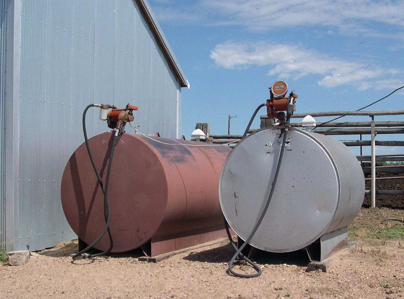 Above-ground storage tanks (SPCC) – Brink, Inc.
